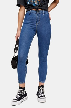 Topshop Womens Petite Mid Stone Joni Skinny Jeans - Mid Stone