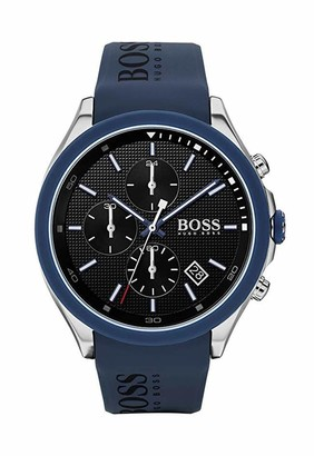HUGO BOSS Men's Analogue Quartz Watch with Silicone Strap 1513717