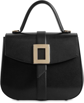 Roger Vivier Beau Vivier Leather Top Handle Bag