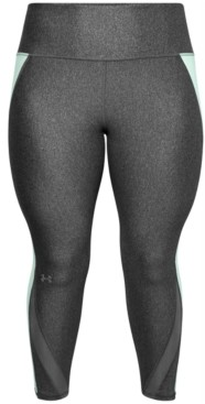 Under Armour Plus Size Mesh-Panel Leggings