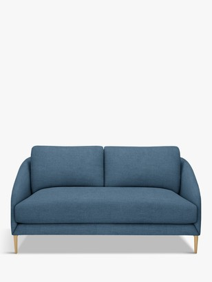 John Lewis & Partners Cape Small 2 Seater Sofa, Light Leg, Hatton Dark Pacific