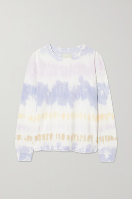 Citizens of Humanity - Oversized Tie-dyed Cotton-jersey T-shirt - Purple
