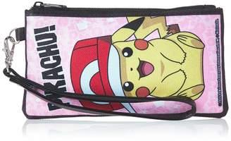 Pokemon Buckle Down Buckle-Down Unisex-Adult's Zip Wallet Small