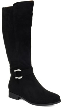 Journee Collection Women's Comfort Cate Wide Calf Boot Women's Shoes
