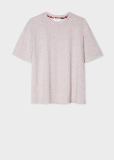 Paul Smith Glitter Top Pale Pink - viscose | pink | Glittering | L - Pink/Pink