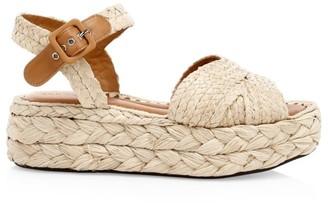 Clergerie Aida Flatform Espadrille Sandals