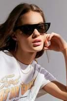 Quay Run Away Flat Top Cat-Eye Sunglasses