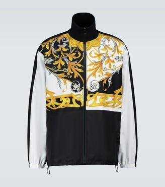 Versace Baroque printed sport jacket