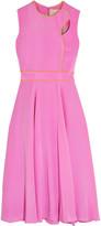 Roksanda Ally cutout silk midi dress