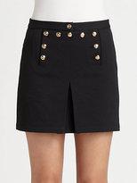 McQ by Alexander McQueen Marine Twill Mini Skirt