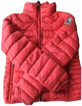 Parajumpers Red Polyester Jackets & Coats