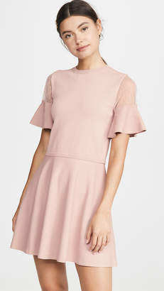 RED Valentino Point D'Espirit Dress