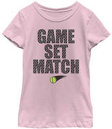 Fifth Sun Pink 'Game Set Match' Tee - Girls