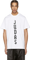Givenchy White 'Judas' T-Shirt