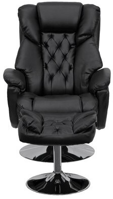 Red Barrel Studio Beno Manual Swivel Recliner with Ottoman