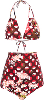 Laura Urbinati Floral Print Bikini Set