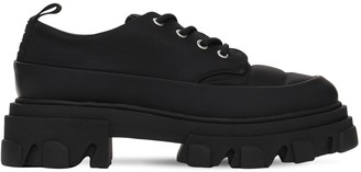 Ganni 45mm Nylon Lace-up Shoes