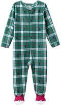 Joe Fresh Baby Boys' Fleece Sleeper, Emerald (Size 3-6)