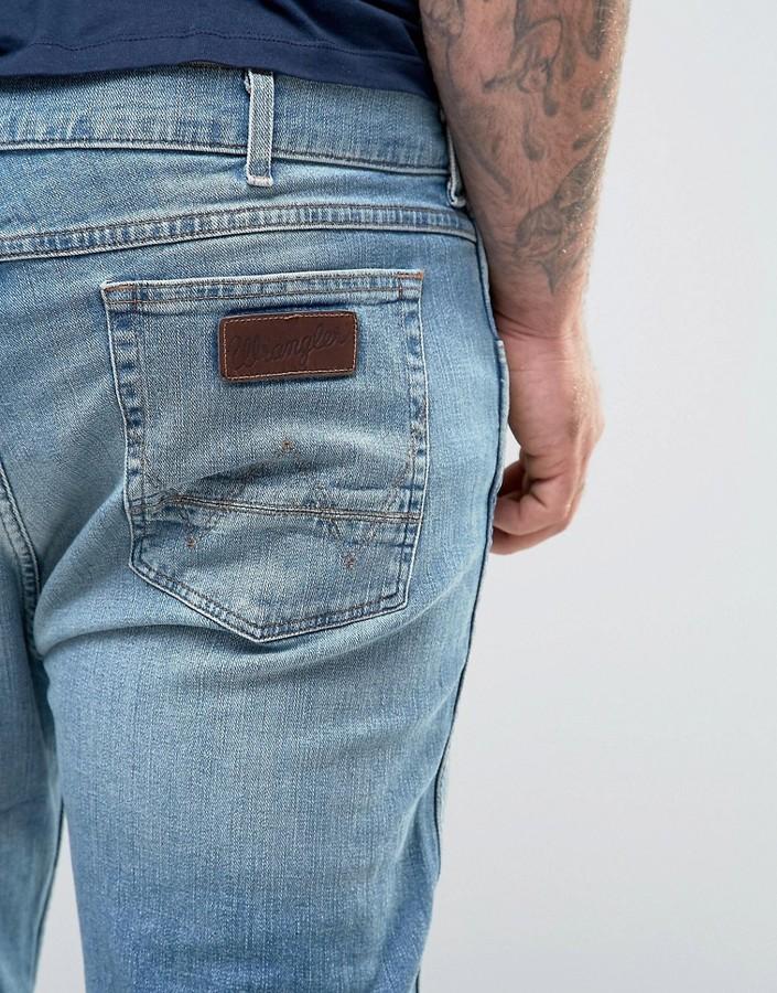Wrangler Plus Greensboro Regular Fit Straight Leg Jean