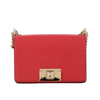 Furla Mini Bag Mimì Shoulder Bag In Textured Leather