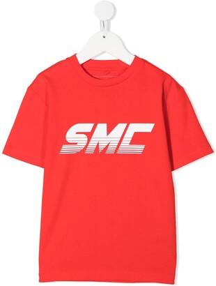 Stella McCartney Kids SMC logo cotton T-shirt