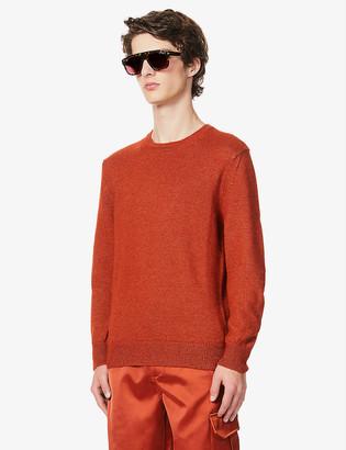 Tom Ford Crewneck alpaca and silk-blend jumper