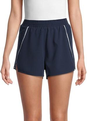The Upside Stretch-Waist Shorts