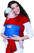 Maman Kangourou Amerigo Stretchy Wrap Organic Cotton Baby Carrier, Red