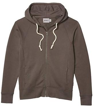 Pact Essential Zip Hoodie (Pewter) Women's Clothing