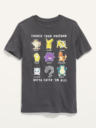 Old Navy Gender-Neutral Pokemon Graphic Tee for Kids