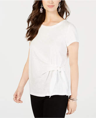 Style&Co. Style & Co Petite Side-Tie Top