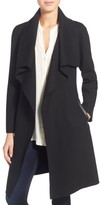 Mackage Women's Belted Stretch Wool Envelope Collar Long Coat