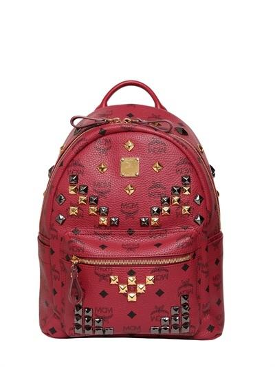 MCM Stark Small Studded Backpack