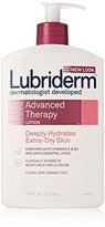 Lubriderm Advanced Therapy Lotion for Extra-Dry Skin, 16-Ounce Pump Bottles (Pack of 2)