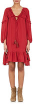 Derek Lam 10 Crosby Women's Ruffle-Trimmed Voile Dress