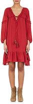 Derek Lam Women's Ruffle-Trimmed Voile Dress
