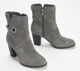 Koolaburra By Ugg by UGG Suede Buckle Ankle Boots - Samiah