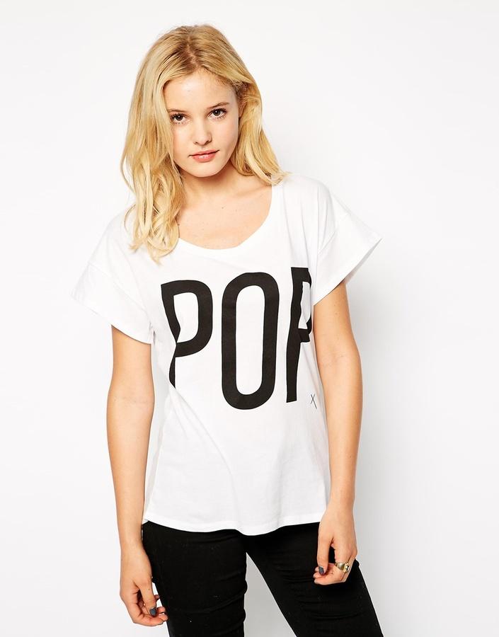 POP Cph T-Shirt with POP Print