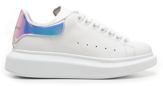 Alexander McQueen Hologram Panelled Oversized Sneakers