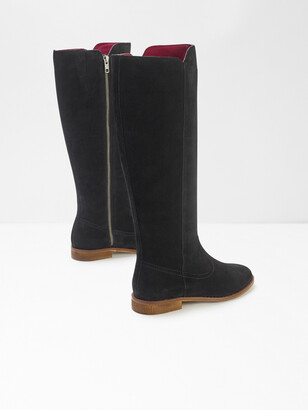 White Stuff Hailey Long Suede Flat Boots