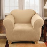 Sure Fit Stretch Pique Knit - Chair Slipcover - Cream (SF38409)