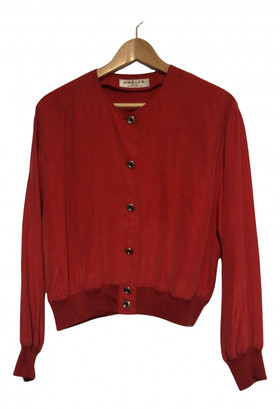 Jaeger Red Silk Jackets