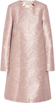 Mary Katrantzou Metallic jacquard coat