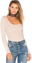 Tularosa Kyla Bodysuit in Light Gray. - size XL (also in )