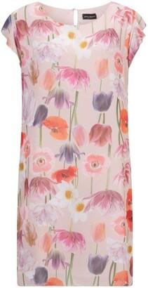 James Lakeland Floral Cold Shoulder Dress