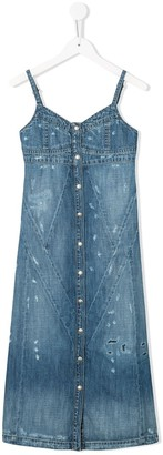 Diesel Distressed Denim Dress