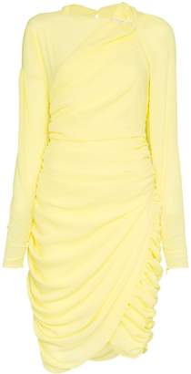 Preen by Thornton Bregazzi Alex Ruched Mini Dress with Crystals