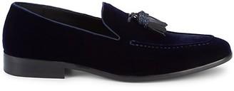 Saks Fifth Avenue Velvet Tassel Loafers