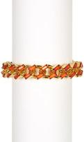 Carolee Baguette Stone Chain Bracelet