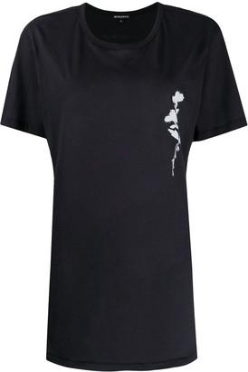Ann Demeulemeester floral cotton T-shirt